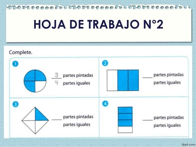 Atractivo Hojas De Trabajo En Fracciones Bosquejo - hojas de trabajo ...