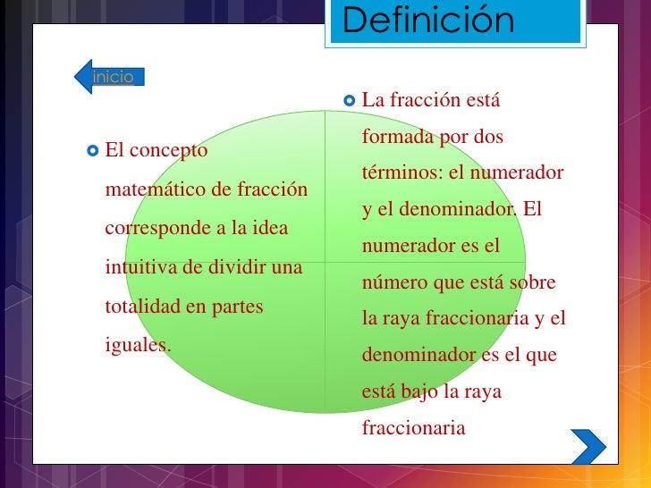 Fracciones para secundaria 1 for Definicion de cuarto