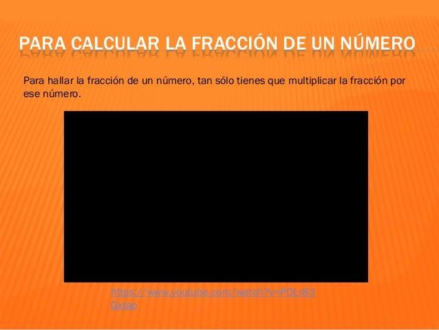 Fracciones 6º