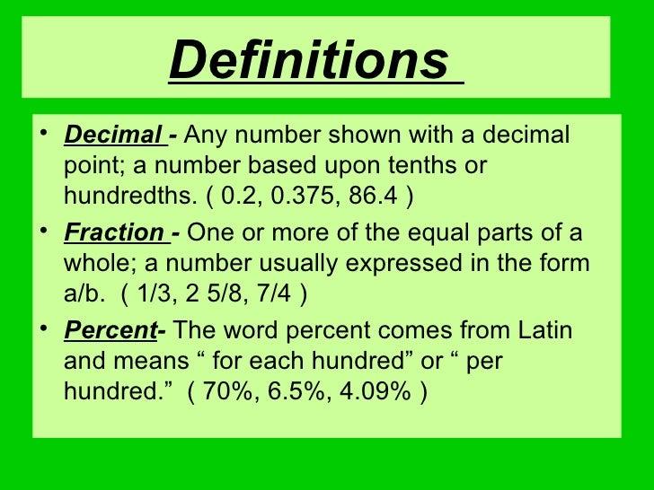Definitionsu2022 ...