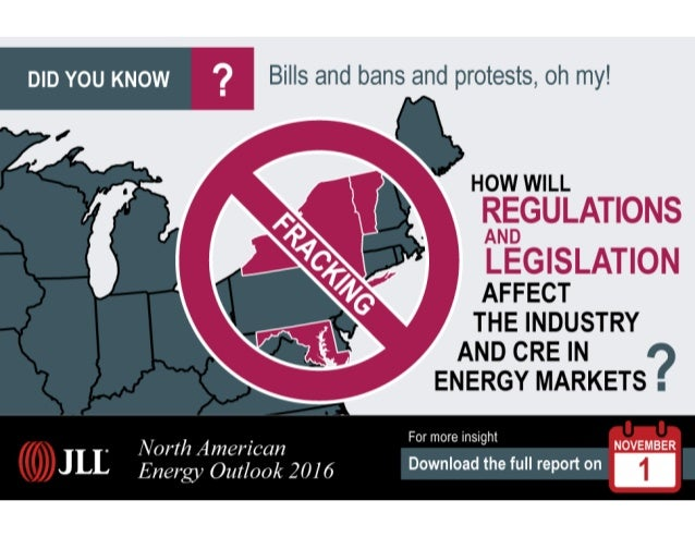 How will fracking regulations and legislation impact energy markets?