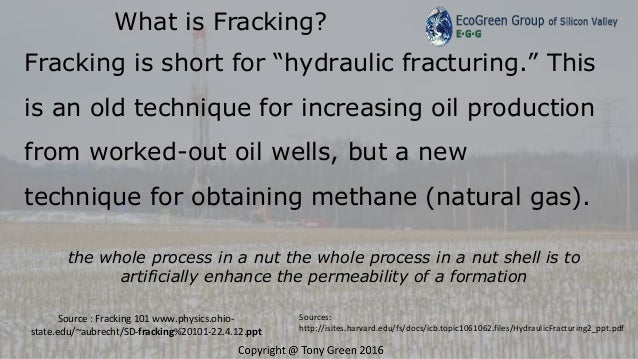 Fracking why the oil and gas got an exemption to clean water act pres…