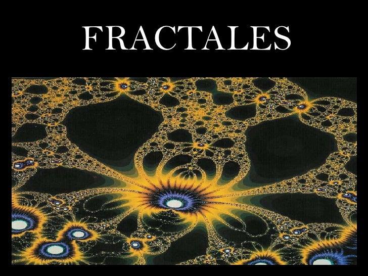 FRACTALES<br />