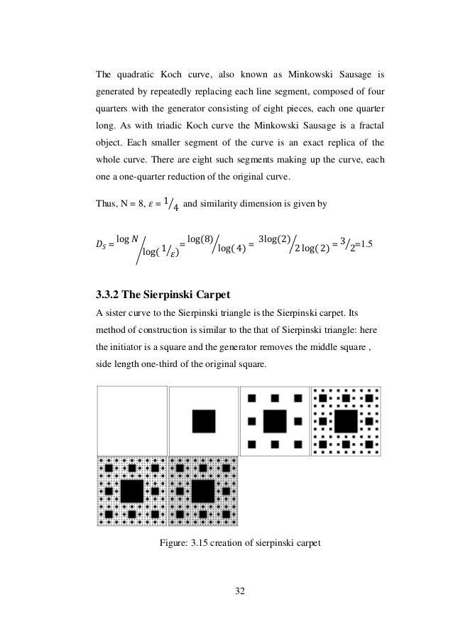 Fractal geometry  Fractal geometr...