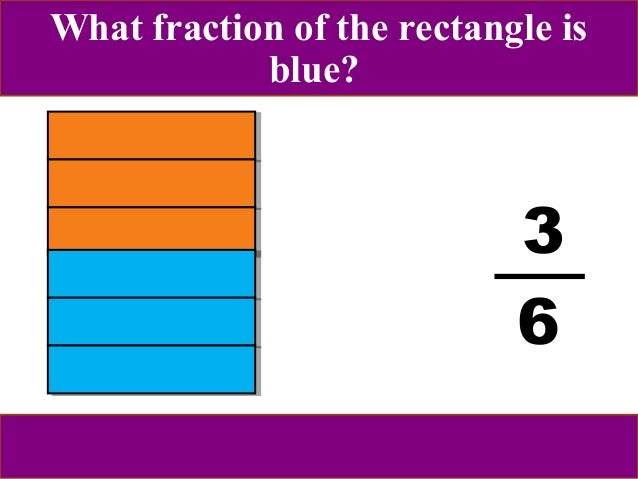 The magical world of fractions