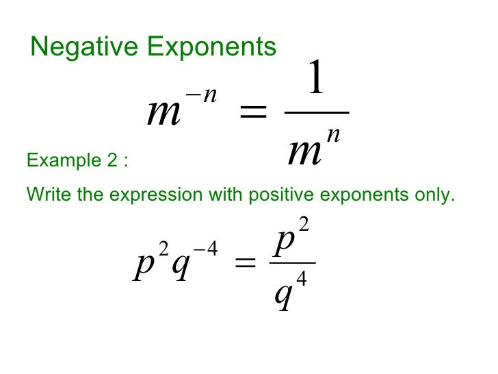 Powers, Exponents, Radicals (Roots), and Scientific Notation