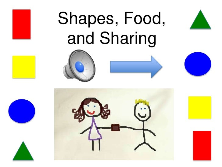 Shapes, Food, and Sharing