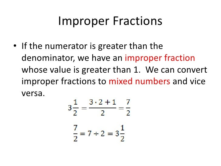 Fraction Overview