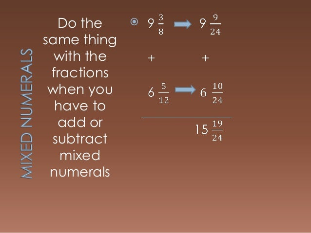 Fractions Adding Subtracting And Multiplying Dividing