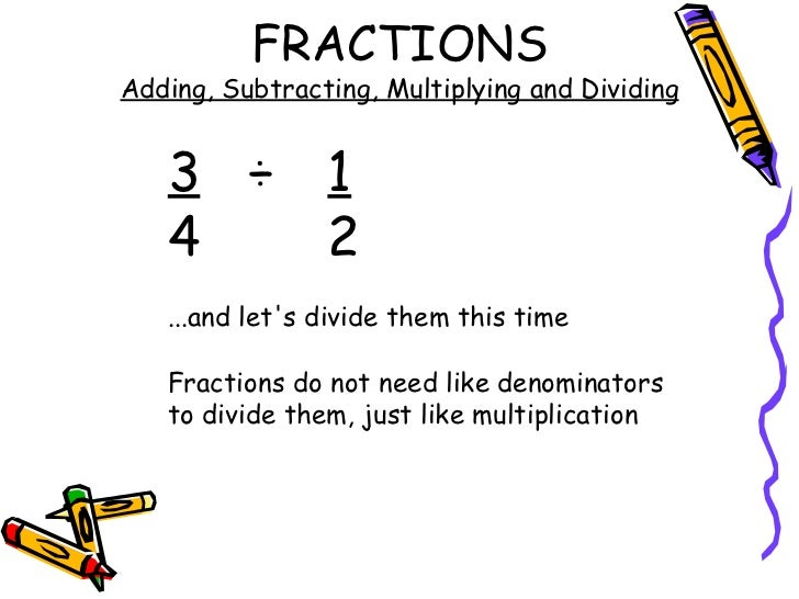 Fractions Adding Subtracting Multiplying And Dividing Scalien – Adding Subtracting Multiplying and Dividing Fractions Worksheets