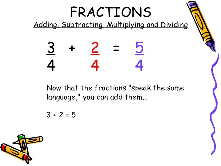 Fractions Add Subtract Multiply and Divide – Adding Subtracting Multiplying and Dividing Fractions Worksheets
