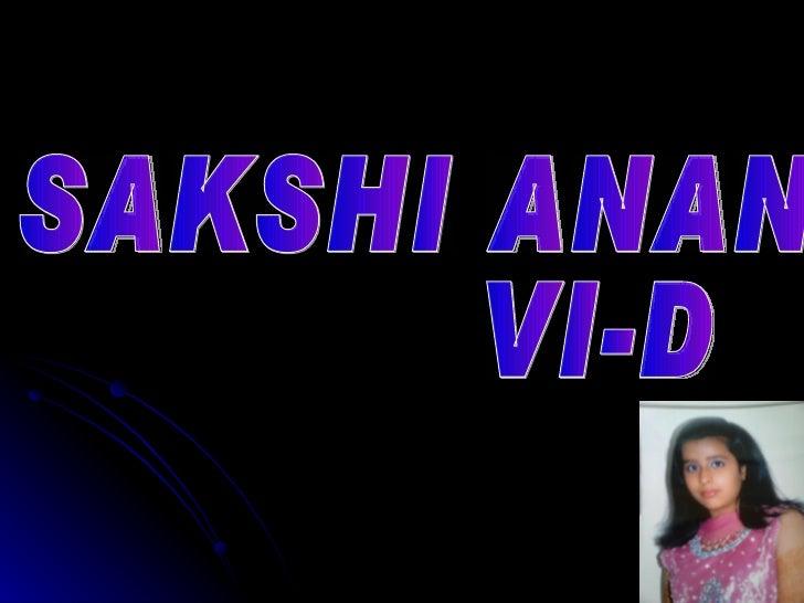SAKSHI ANAND  VI-D  35