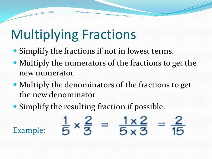 Fractions Definition Of Terms Passionx