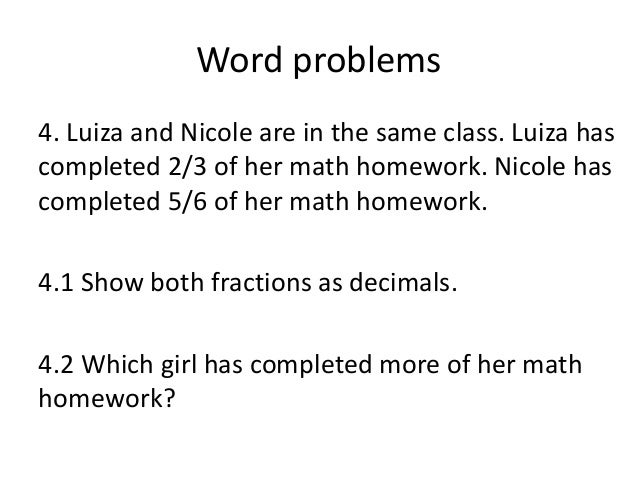 Fractions word problems worksheets grade 7