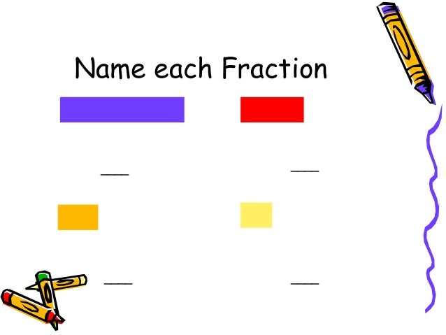 Fractions Shapes Amounts