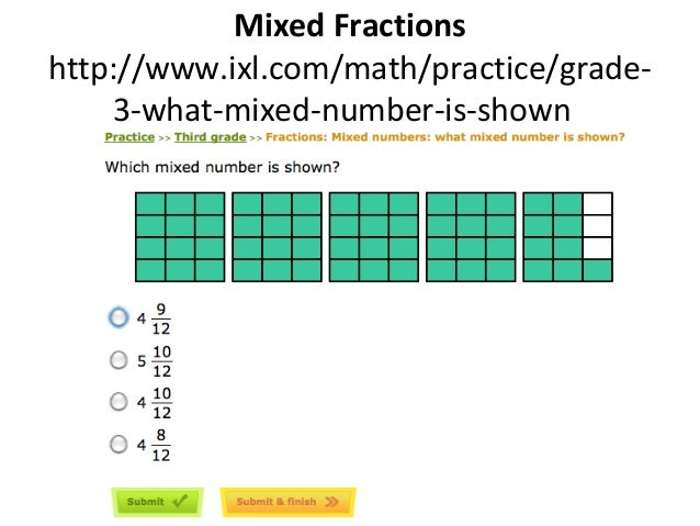 Fraction workshop