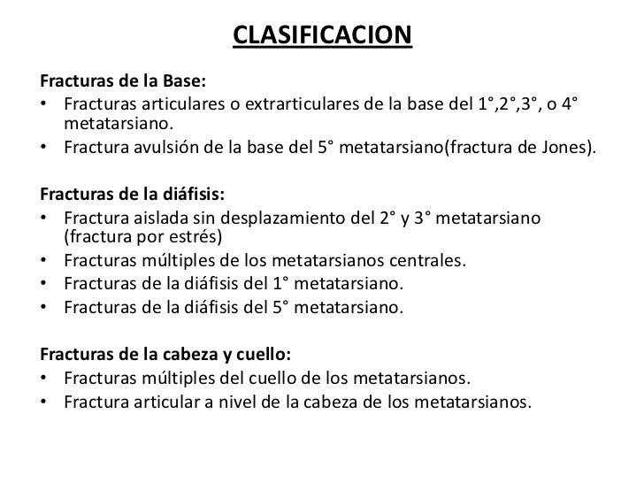 Fractura metatarsiana por sobrecarga for Cuarto y quinto metatarsiano