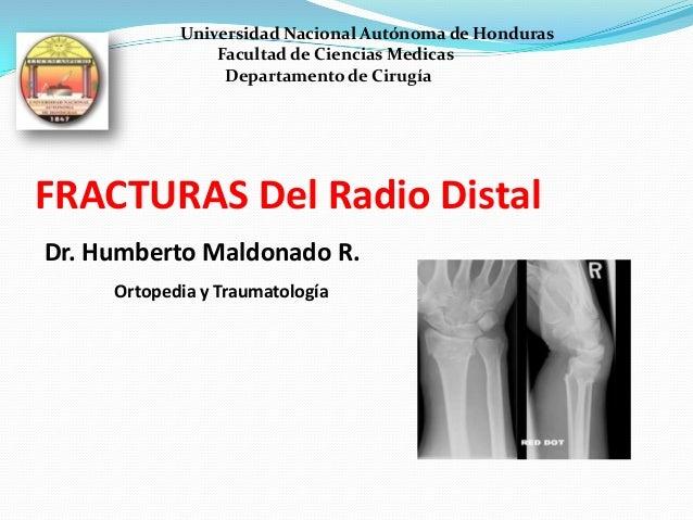 Universidad Nacional Autónoma de Honduras                Facultad de Ciencias Medicas                 Departamento de Ciru...