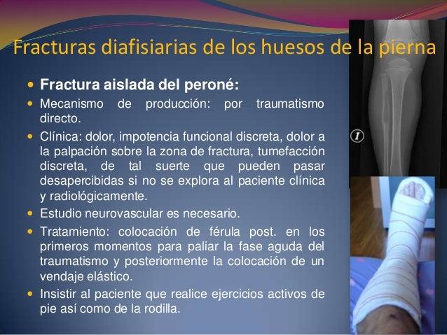 complicaciones  Frecuente el síndrome compartimental  Pseudoartrósis  Falta de consolidación