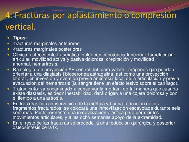 Objetivo  Describir los resultados obtenidos en el tratamiento quirúrgico de las fracturas articulares de la tibia proxim...
