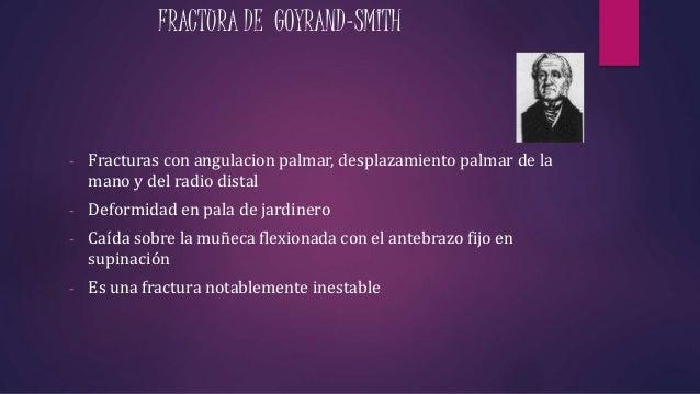Fracturas distales de radio y fracturas de escafoides for Jardinero definicion