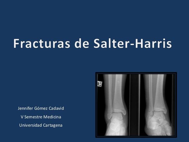 Jennifer Gómez Cadavid V Semestre MedicinaUniversidad Cartagena