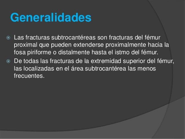 Fracturas subtrocantericas de femur Slide 2