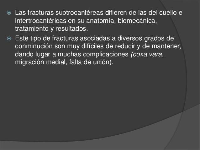 Fracturas subtrocantericas de femur Slide 3