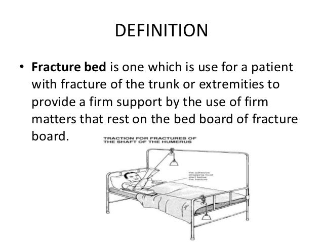 bed definition
