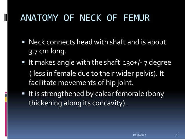 Fracture neck of femur
