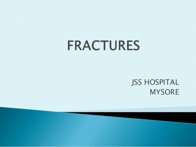 JSS HOSPITAL MYSORE