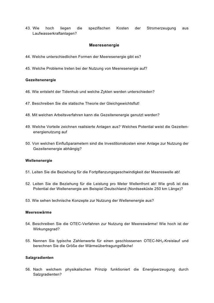Fragen katalog