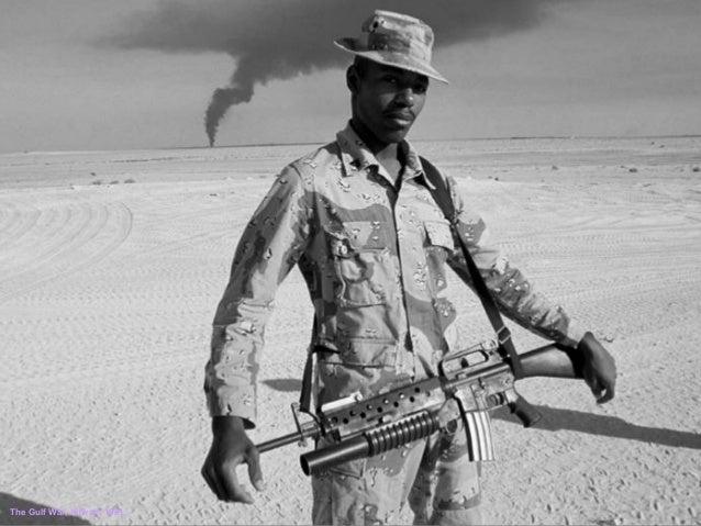 The Gulf War, Kuwait, 1991.