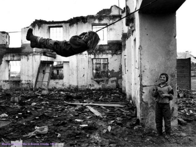 Muslim refugees. War in Bosnia. Croatia, 1994