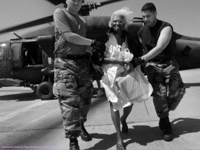 Hurricane Katrina. New Orleans, U.S.A., 2005.