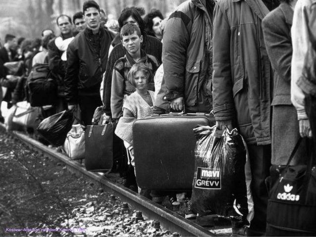 Kosovar-Albanian refugees. Kosovo, 1999