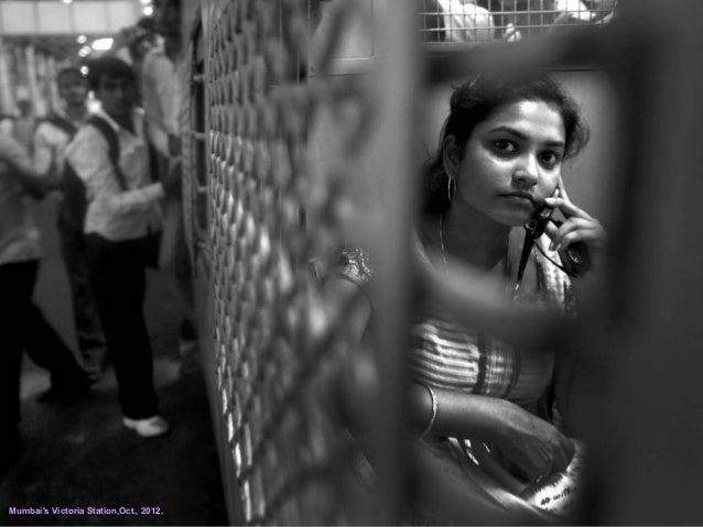 Mumbai's Victoria Station,Oct., 2012.