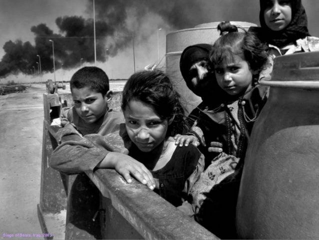 Siege of Basra. Iraq, 2003.
