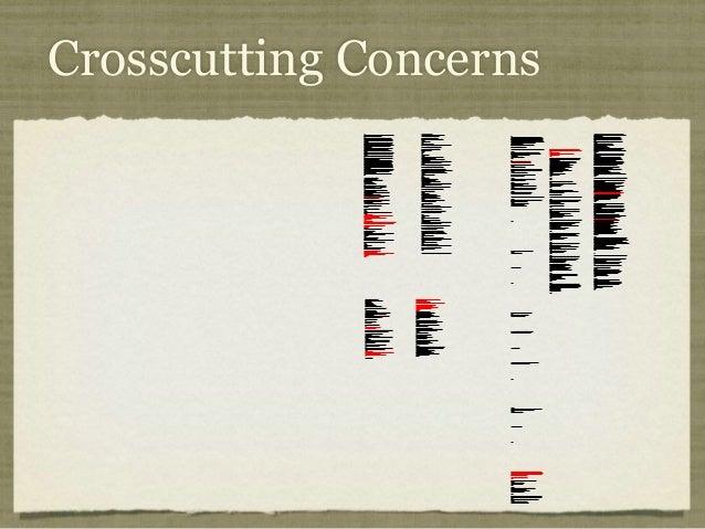 Crosscutting Concerns /* * ==================================================================== * * The Apache Software Li...