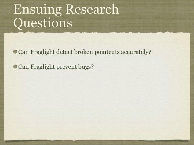Fraglight: Shedding Light on Broken Pointcuts in Evolving Aspect-Oriented Software Demo