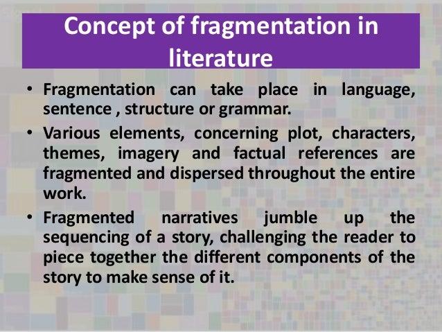 """Fragmentation in """"Midnight's Children"""""""