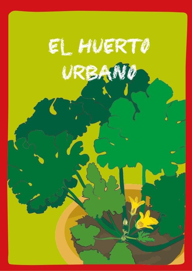 eL huerto urbano  11  EL HUERTO  URBANO