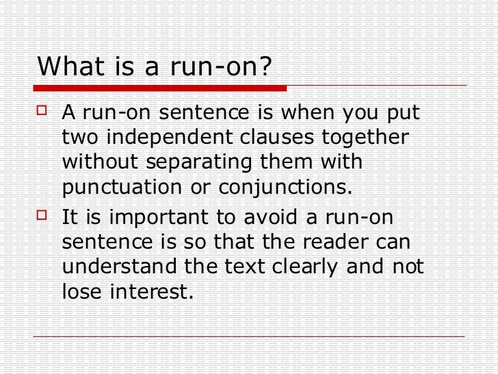 fragments  u0026 run on sentences