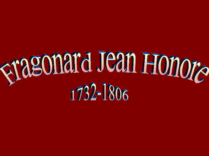 Fragonard Jean Honore 1732-1806