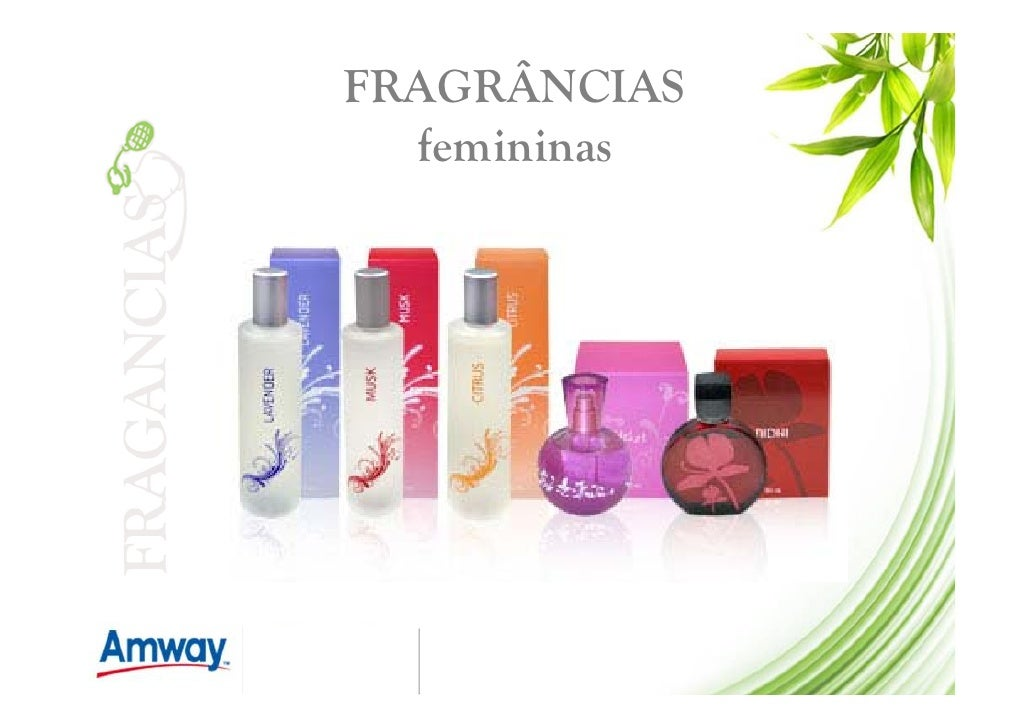 FRAGRÂNCIAS   femininas