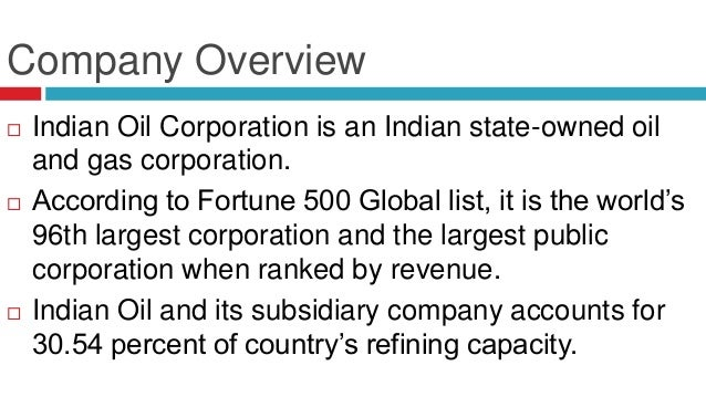 Financial Analysis of the Financial Ratios of Indian Oil ...