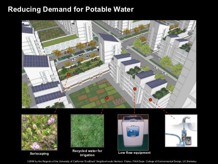 Ecoblock Neighborhoods The Right Scale For Zero Carbon