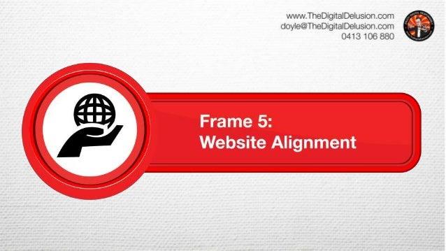 Frame 5 – Website Alignment