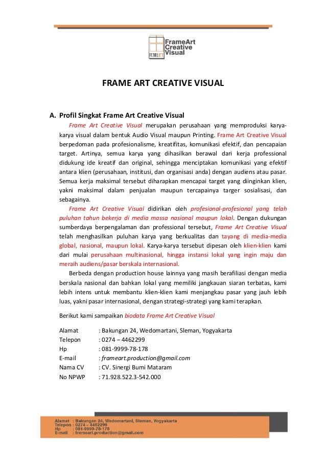 Frame Art Creative Visual Production House