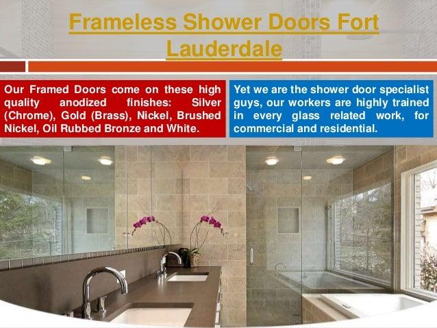 Frameless Shower Doors Miami